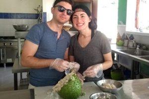 Taller gastronómico en Finca La Jorará Eco Hotel en Palomino