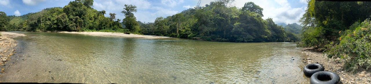 vista panoramica del rio don diego