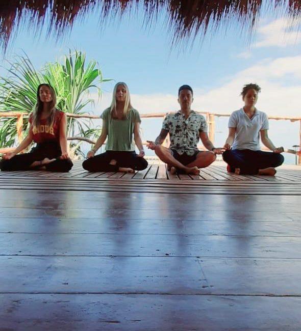 Medita ahora por la paz